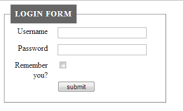 css-login-form-simple